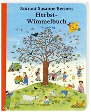 Herbst-Wimmelbuch (kleine Midi-Ausgabe) Rotraut Susanne Berner (Gerstenberg-Vlg.
