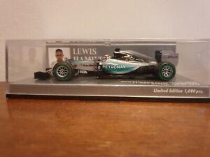 Minichamps - 4012138134102 - Mercedes W06 - Lewis Hamilton - USA GP Winner 2015