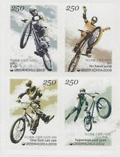 Korea 2009 Stamp Extreme Sports Series No 4 BMX Bicycle Sport Stamp sticker
