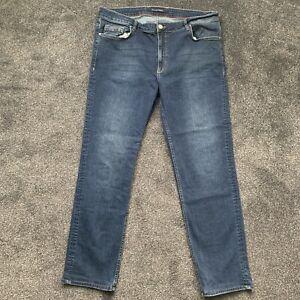 Tommy Hilfiger Regular Fit Radburn Arlington Blue Men's Jeans Size W46 L32