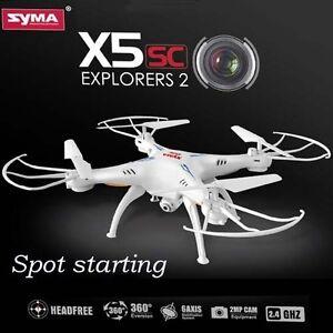 Drone SYMA X5SC 2 Explorer Avec Caméra HD, 6 Axes 4CH 29033