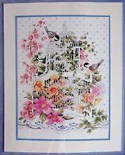 SALE!!! Tiptoe Thru My Tulip Garden Linda Myers Counted X-Stitch Kit