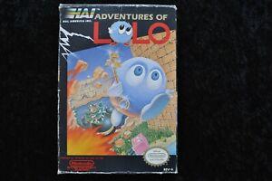 Adventures of Lolo Nintendo Nes NTSC Boxed
