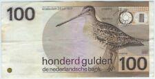 Niederlande / Netherlands P.097 100 Gulden 1977!