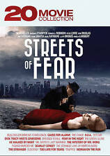 Streets of Fear: 20 Movie Collection DVD-The Chase/DOA/Detour/Dressed to Kill