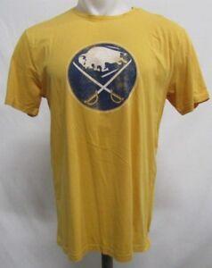 Buffalo Sabres NHL Men's Short Sleeve Trophy Gold T-Shirt