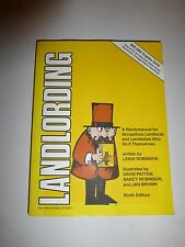 Landlording A Manual For Landlords Who Do It Themselves By Robinson 9th Ed B1`74
