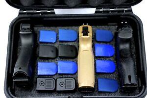 ArmourCase Top Loader QuickDraw 3 Pistol handgun 12 mag 1430 Case + nameplate