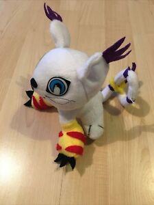 Digimon Gatomon Soft Plush Toy Play By Play 1999