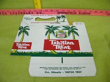 Vintage Tahitian Treat Soda Cardboard Carrying Case, Unused-Canada Dry Product