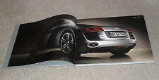 Audi R8 Full Size Hardback UK Market Brochure Book 2007 - 4.2 V8 FSI