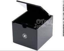 New CHANEL Acrylic VIP Gift Vanity Box / Cotton Makeup Box Free Shipping