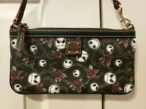 Disney Dooney & Bourke Nightmare Before Christmas Jack wristlet Haunted Mansion