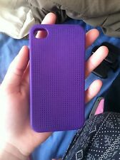 silicone iphone 4 case Dark Purple