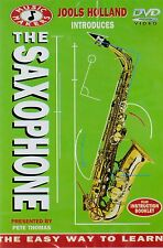 The Saxophone. Jools Holland's Music Makers. New cellophane wrapped DVD