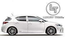 Lexus CT200h Stainless Steel Chrome Pillar Posts by Luxury Trims 2011-2017 (6pc)