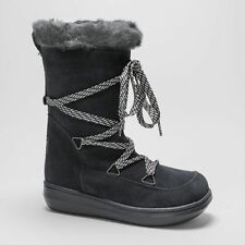 Suede Standard Width (D) Lace Up Boots for Women