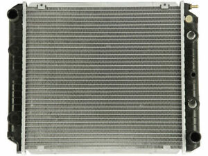 Radiator For 1991 Volvo 940 2.3L 4 Cyl Z587PW Radiator -- With 17 3/4 Core