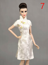 Chinese Traditional Dress For Barbie Clothes Cheongsam Qipao Evening Dresses 4c772cc90718