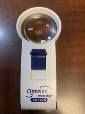 Optelec 6x/20D PowerMag+ Bright White LED Hand-Held Magnifier