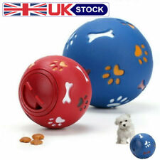 Tough Treat Ball Novelty Food Dispenser Pet Dog Puppy Puzzle Fun Interactive Toy