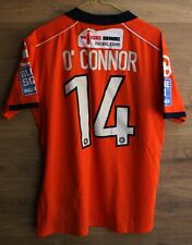 LUTON TOWN 2011/2012 HOME MATCH WORN #14 O'CONNOR SHIRT JERSEY CARBRINI SIZE M