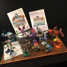 Skylanders Lot Wii Figures Portals Discs Instructions Giants Swap Force PRIORITY