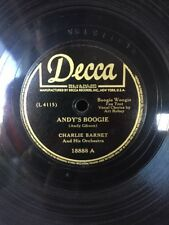 Charlie Barnet - Andy's Boogie / Baby, You Can Count On Me - Decca 18888