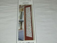 """Artscape Sidelight 12"""" x 83"""" Stained Glass Privacy Window Film New"""