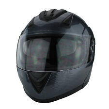 Full Face Modular Motorcycle Helmet With Dual Visor DOT Approved Carbon Fiber
