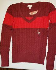 Arizona Jeans V-Neck Sweater Size L