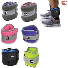 Sporteq Pair Ankle / Wrist Weights For Cuff/ Leg Strap Running Boxing Straps Gym