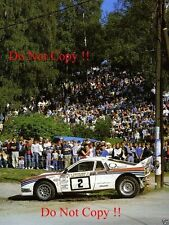 Markku Alen Martini Lancia 037 1000 Lakes Rally 1985 Photograph