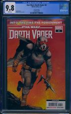 Star Wars Darth Vader 6 (Marvel) CGC 9.8 White Pages 2nd Print Cameo app of Ochi