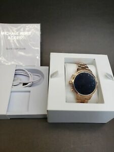 FOSSIL Smartwatch DW7F1 Gen 4 Venture HR Rose Gold Tone Stainless Steel Android