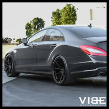 "20"" VERTINI RF1.2 GLOSS BLACK CONCAVE WHEELS RIMS FITS BENZ W218 CLS550 CLS63"