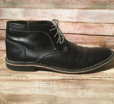 Steve Madden Size 11 Harken Ankle Boot - Men's - Black