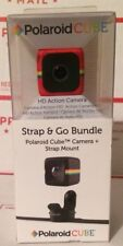 POLAROID CUBE (POLC3RST) HD Action Camera Strap & Go Bundle RED *NEW/SEALED*