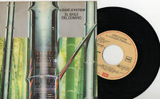 "LOGIC SYSTEM - El Baile Del Domino / Unit, SG 7"" RARE SPAIN 1982"