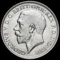 1915 George V Silver Florin, Scarce, GVF