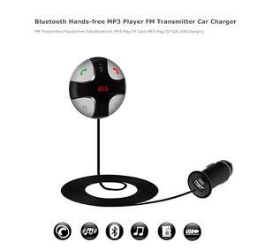 Bluetooth FM Transmitter HIFI Wireless Audio Receiver Stereo Car Kit With USB