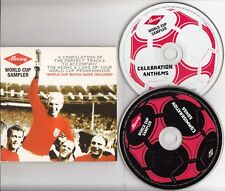 World Cup Sampler- The Best of Football Songs 2-CD PROMO Rihanna Fall Out Boy