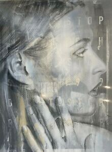 Rone Print Artwork (Rare Print) - No Reserve Auction - 500 x 700mm