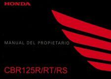 HONDA CBR cbr125 cbr125r jc50 manual del propietario/Español