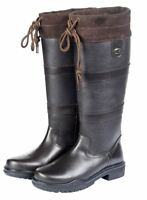HKM Belmond Winter Insulated Faux Fur Equestrian Country Walking Outdoor Boots