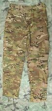 NEW GENUINE US ARMY CRYE MULTICAM FLAME RESISTANT COMBAT TROUSERS. SMALL-LONG.