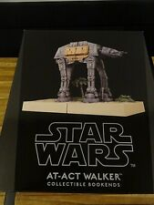 Star Wars Rogue One AT-ACT WALKER Gentle Giant Limited Ed. Bookends - NEU OVP