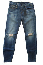 """R13 WOMENS JEANS RELAXED SKINNY """"VINTAGE SHREDDED"""" MADE IN ITALY SZ. 28 NEW"""