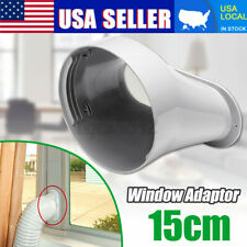 15CM Window Adapter Connector Exhaust Hose Kit For Portable Air Conditioner US
