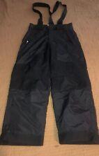 "PULSE Size Medium Snow Pants Black Ski Pants Snowboarding Big Kids 25"" Inseam"
